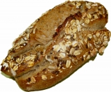 Roggenbaguettebrötchen - Mehrkorn - petit